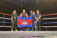 Cambodia's Eric Kirkling wins the WBA...