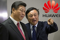 Huawei was founded by Ren Zhengfei, a...