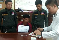 Detained a suspect with six jumper drugs
