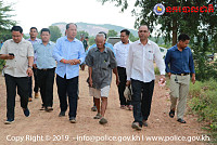 Banteay Meanchey Governor Inspects...