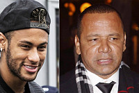 Query Neymar's father talks to...