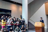 Hong Kong leader sees 'talk with...