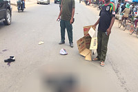 Suspected motorcyclist killed one...