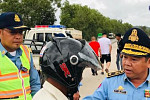 Sihanoukville Traffic Police Restrict...