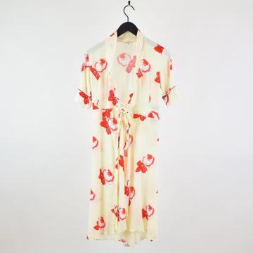 Floral dress from Ganni. Size 34. 350 SEK