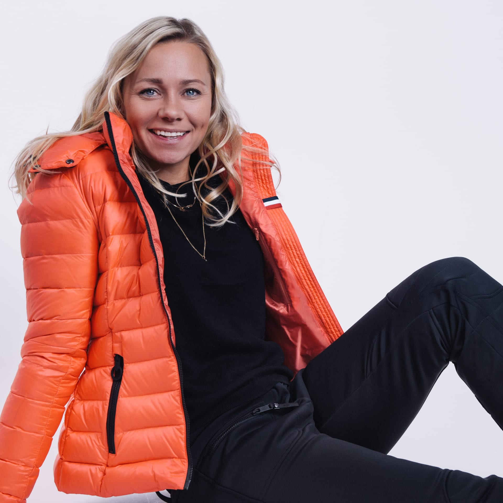 Olympian Frida Hansdotter goes out with a winter campaign