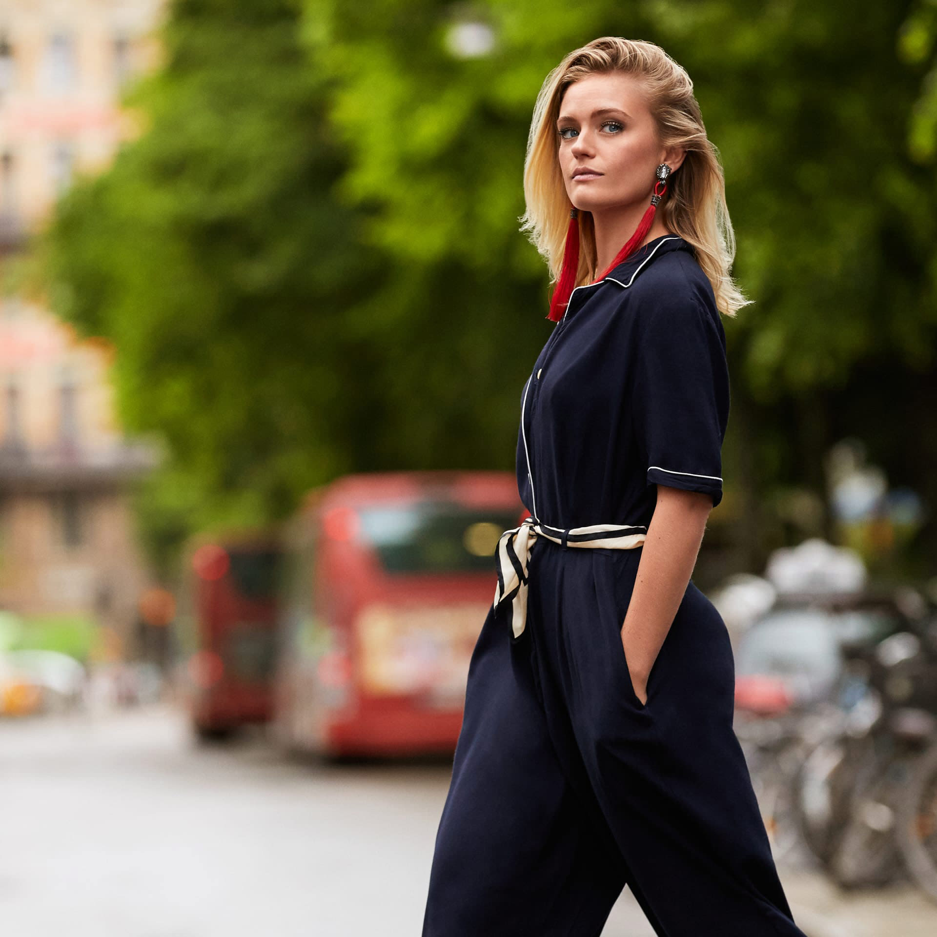 Alicia Agneson teams up with Yaytrade to hijack Stockholm Fashion Week