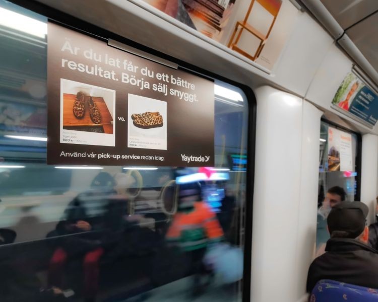 Pick-up service métro campaign