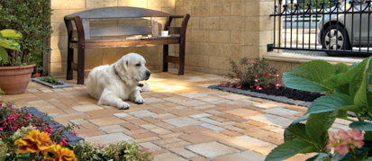 verlegemuster terrassenplatten vielseitig und sch n. Black Bedroom Furniture Sets. Home Design Ideas