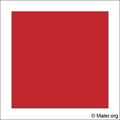 Farbe Rot Wandgestaltung