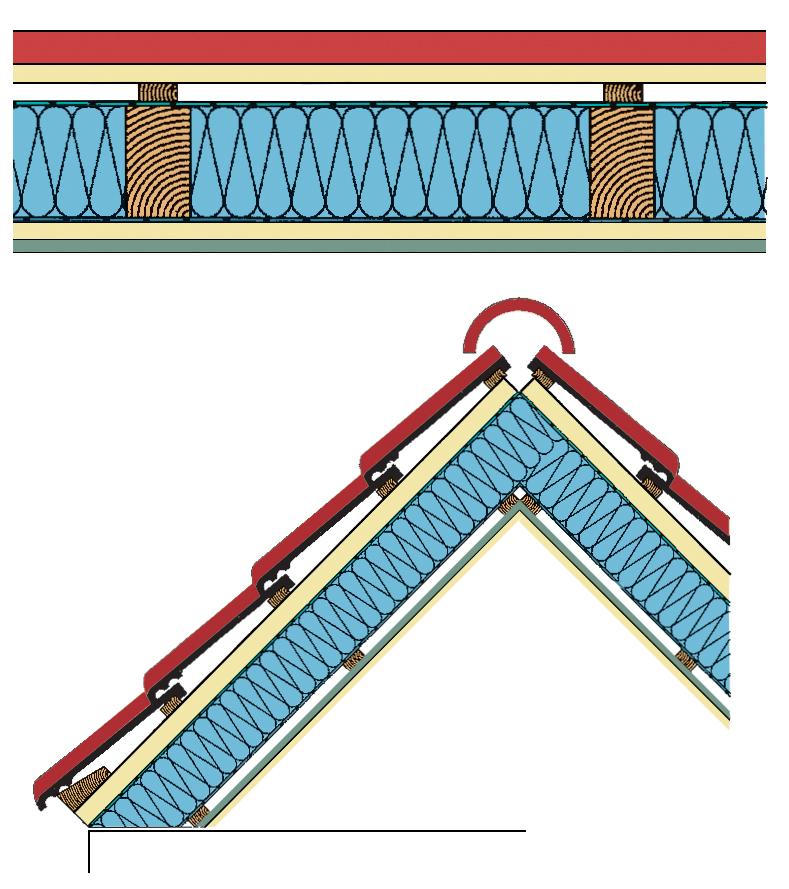korrekter aufbau der dachisolierung bestimmt erfolg der. Black Bedroom Furniture Sets. Home Design Ideas