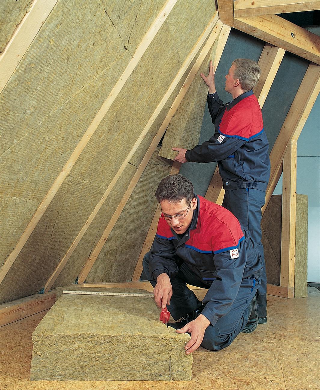 energie sparen durch dachd mmung von innen. Black Bedroom Furniture Sets. Home Design Ideas