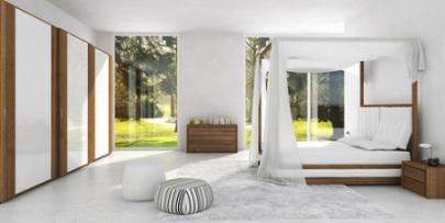 das himmelbett aus holz l dt zum romantischen tr umen f r. Black Bedroom Furniture Sets. Home Design Ideas