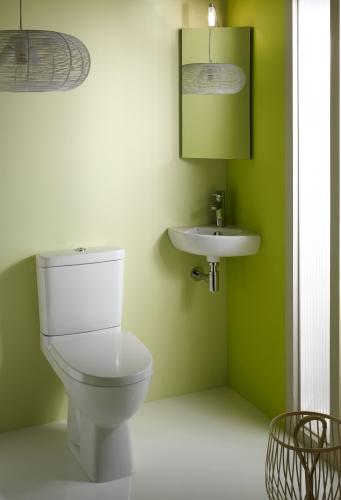 platzsparendes eckwaschbecken f r das badezimmer. Black Bedroom Furniture Sets. Home Design Ideas
