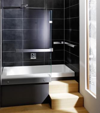 kompakt und multifunktional die eckbadewanne mit dusche l sst keine w nsche offen. Black Bedroom Furniture Sets. Home Design Ideas