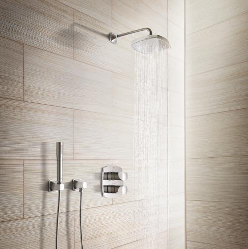 wie eine unterputzarmatur eine dusche aufwertet. Black Bedroom Furniture Sets. Home Design Ideas