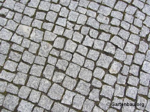 Kleine granit pflastersteine