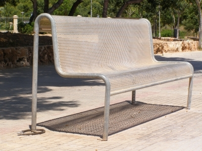 Gartenbank aus Aluminium: Kostengünstig und wartungsarm