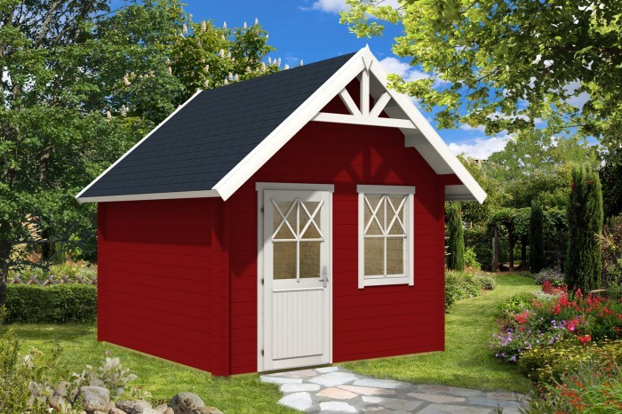 Gartenhaus schwedenstil  Top 5 Gartenhaus-Neuheiten 2015