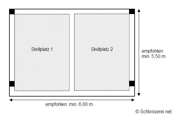 individuelle planung eines doppelcarports. Black Bedroom Furniture Sets. Home Design Ideas