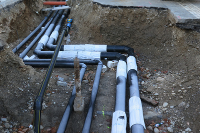 Die Korrekte Sanierung Der Abwasserleitung
