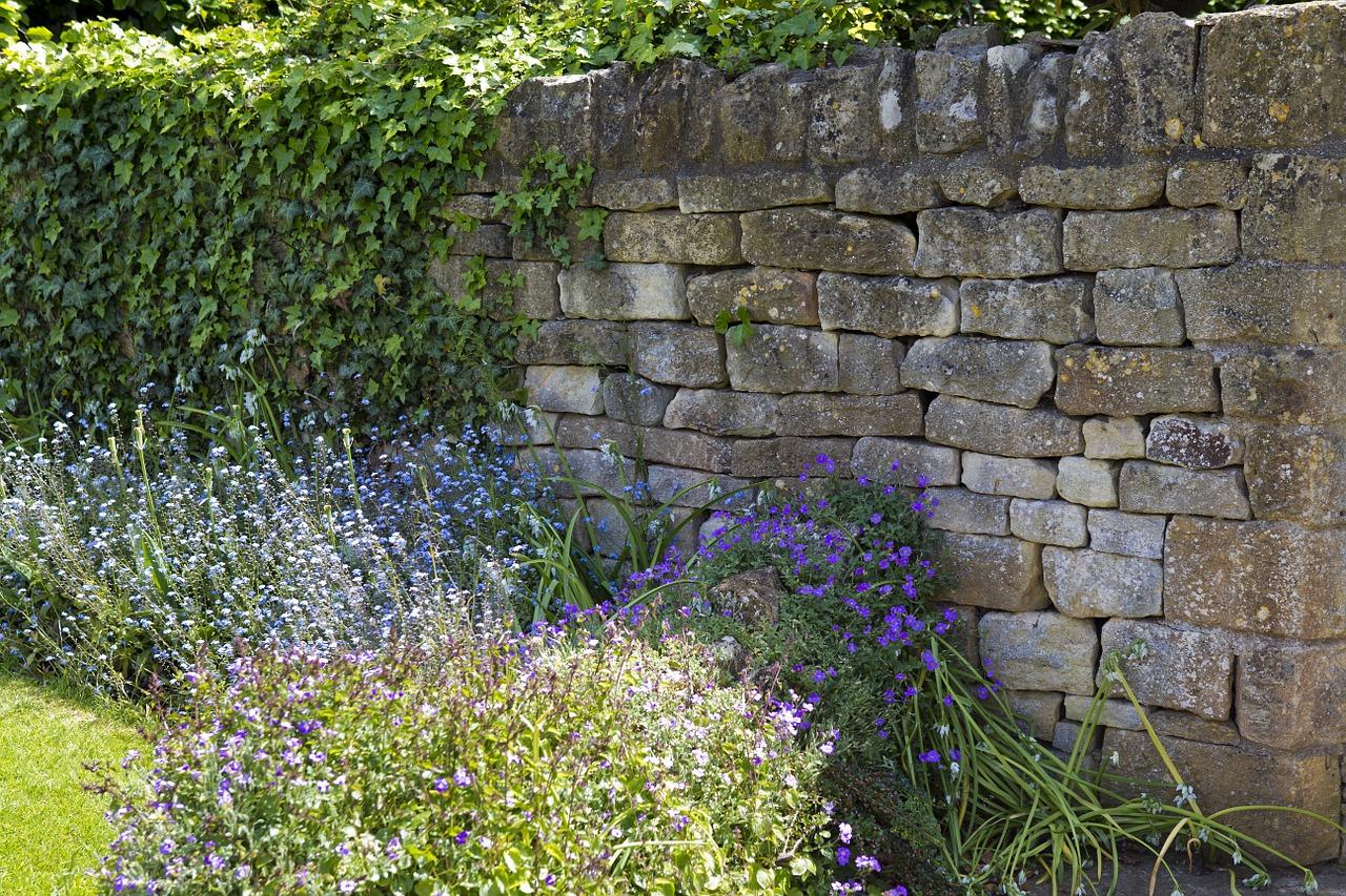 gartenmauer gestalten: ideen für ein einzigartiges mauerwerk
