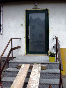 Welche Eingangstür zum Haus passt, sollte man frühzeitig überlegen.