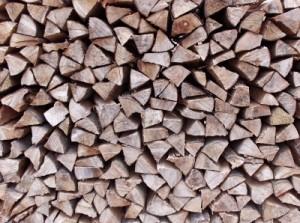 Buche als Brennholz