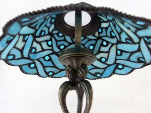Lampe im Tiffany Stil