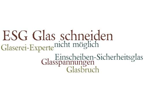 Turbo Deshalb ist das ESG-Glas Schneiden nicht möglich! DA77