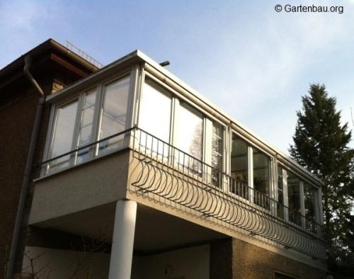 Favorit Wintergarten Balkon: Vorschriften & Konstruktion VV88