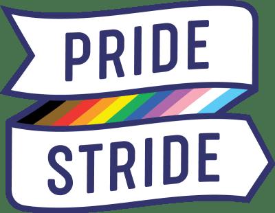 Pride Stride logo