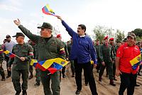 Maduro welcomes the start of...