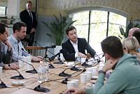 Ukraine's Zelenskiy Says He Discussed...