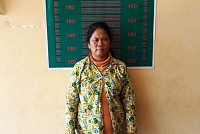 Woman arrested for confinement of...