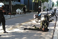 District guards continue training on...
