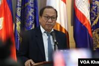 Senior officials in Cambodia call the...