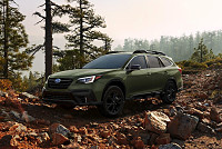 2020 Subaru Legacy and Outback stay...