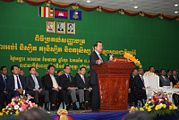 PM Samdech Techo Hun Sen Receives US...