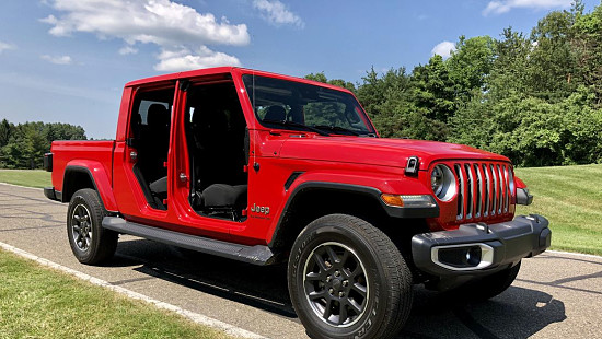 2020 Jeep Gladiator quick drive: Note...