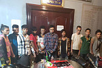 Yesterday 34 drug abductions arrested...
