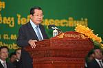 Samdech Techo Hun Sen announces that...