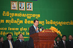 This afternoon, Hun Sen will meet...
