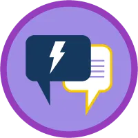 Service Cloud for  Lightning Experience badge
