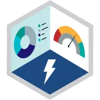 「Lightning Experience Reports & Dashboards Specialist (Lightning Experience レポート & ダッシュボードスペシャリスト)」バッジ