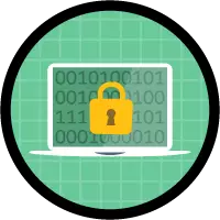 Protect Your Data  in Salesforce badge