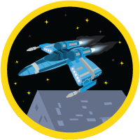 Build a Battle  Station App badge