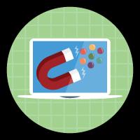 「社員募集アプリケーションのユーザインターフェースのカスタマイズ」バッジ