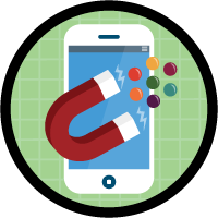 「社員募集アプリケーション用のデータモデルの作成」バッジ