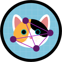 「猫の品種を認識する Cat Rescue アプリケーションの構築」バッジ